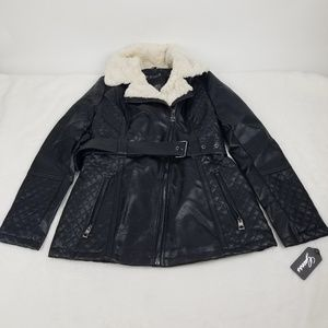 GUESS JACKET LEATHER